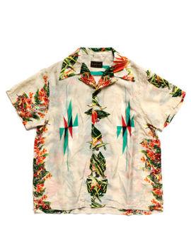 Kapital Silk Rayon Hibiscus Ortega Hawaiian Aloha Shirt Mens Japan Brand F/S by Kapital