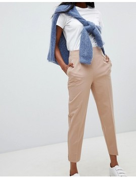 Asos Design Mix & Match Highwaist Cigarette Pants by Asos Design