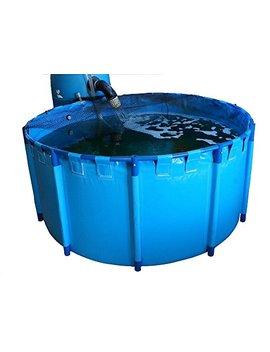 "Round Koi Pond Show Tank 63"" X 31.5"" (425gal) by Your Choice Aquatics"