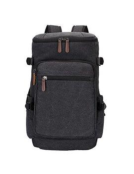 Yousu Canvas Backpack Fashion Travel Duffel Backpack School Rucksack Daypack by Yousu