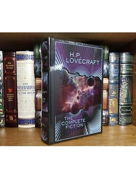 The Complete Fiction Of H.P. Lovecraft New Sealed! Bonded Leather, Leather Bound by Ebay Seller