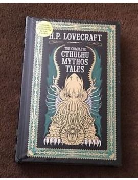 The Complete Cthulhu Mythos Tales By H. P. Lovecraft 2015 Leather New Sealed by Ebay Seller