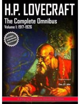 H.P. Lovecraft, The Complete Omnibus Collection, Volume I: : 1917 1926 (Hardback by Ebay Seller