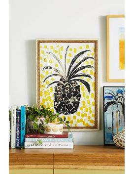 Pineapple Wall Art by Artfully Walls