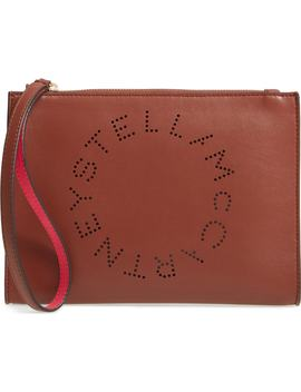 Alter Faux Nappa Leather Wristlet Clutch by Stella Mccartney