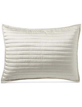 Plume Quilted Standard Sham, Created For Macy's by Hotel Collection