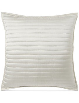 Plume Quilted European Sham, Created For Macy's by Hotel Collection