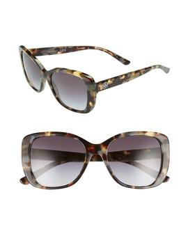 53mm Gradient Rectangle Sunglasses by Tory Burch