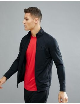 Under Armour Training Track Jacket In Black 1313204 001 by Under Armour