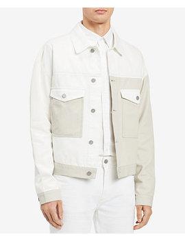 Men's Colorblocked Trucker Jacket by Calvin Klein Jeans