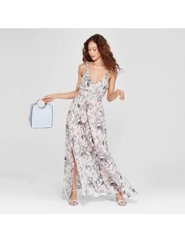 Women's Floral Print Maxi Dress   Love @ First Sight (Juniors') Blush by Love @ First Sight