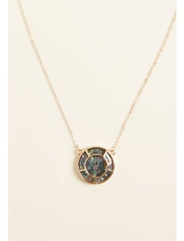 Here's Your Shine Pendant Necklace by Modcloth