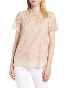 Lace Ruffle Collar Blouse by Chelsea28