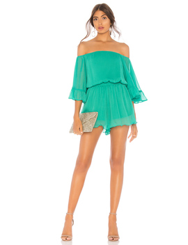 X Revolve Ruffle Sleeve Romper by Endless Rose