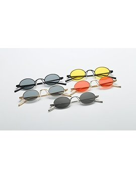 Feisedy Vintage Small Round Sunglasses 2018 Retro Slender Metal Frame Candy Colors B2422 by Feisedy