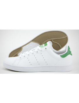 New Adidas Originals Stan Smith Vulc Shoes White Green Skate Sneakers B49618 by Adidas