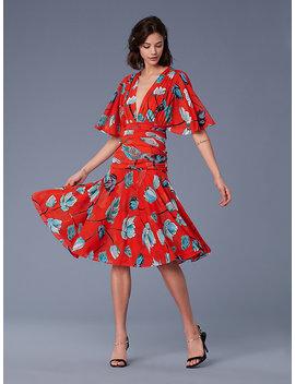 The Dvf Asher Mesh Dress by Dvf