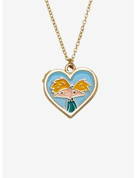 Hey Arnold! Heart Locket Necklace by Hot Topic