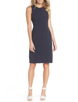 Stripe Sheath Dress by Vince Camuto