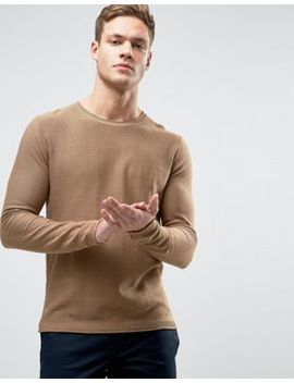 Jack & Jones Jumper With Raw Hem Detail by Jack & Jones