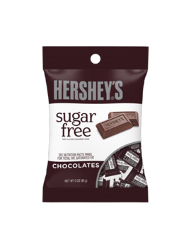 Hershey's, Sugar Free Chocolate Candy, 3 Oz by Hershey's