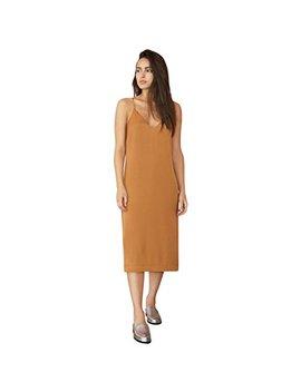 Avec Les Filles Joyce Azria Slip Dress With Front Slit by Avec+Les+Filles