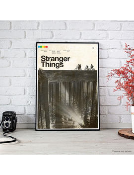 Stranger Things   2016 Concepcion Studios Fine Art Print P Oster by Etsy