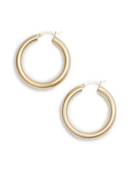 Small Hoop Earrings by Argento Vivo
