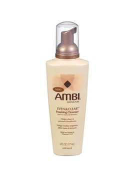 Ambi Even & Clear Foaming Cleanser  6 Fl Oz by Ambi