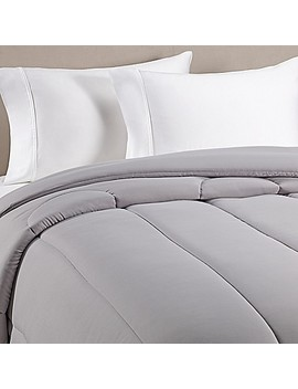 Equip Your Space Solid Comforter In Grey by Bed Bath And Beyond