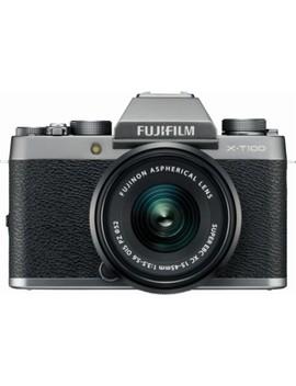 X Series X T100 Mirrorless Camera With 15 45mm Lens   Dark Silver by Fujifilm