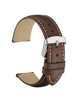 Wocci Watch Band   Vintage Leather Watch Strap, Choice Of Color And Width (18mm,19mm,20mm,21mm Or 22mm) by Wocci