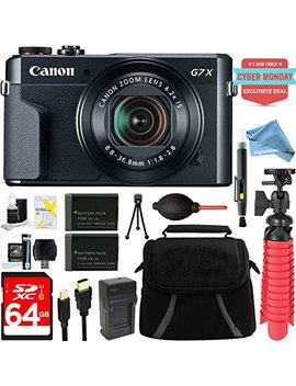 Canon Power Shot G7 X Mark Ii 20.1 Mp 4.2x Optical Zoom Digital Camera + Two Pack Nb 13 L Spare Batteries + Digital And More Free Accessory Bundle (Exclusive Cyber Monday Deal) by Digitaland More