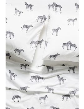 Printed Safari Sheet Set by Anthropologie