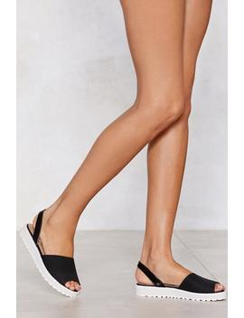 Don't Look Slingback Sandal by Nasty Gal
