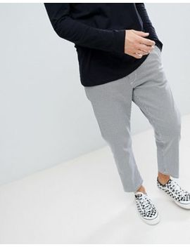 Obey Straggler Houndstooth Pant In Straight Fit by Obey