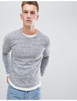 Brave Soul Long Sleeve Double Layer Top by T Shirt