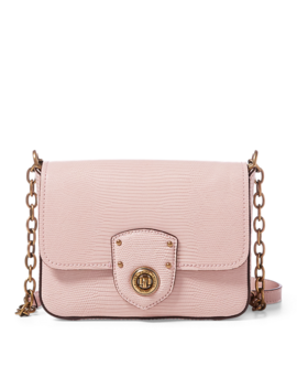 Faux Lizard Crossbody Bag by Ralph Lauren