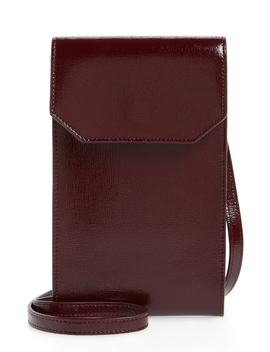 Leather Phone Crossbody Bag by Nordstrom