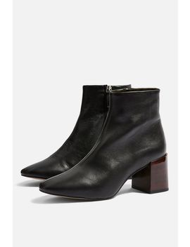 Marlene Mid Heel Ankle Boots by Topshop