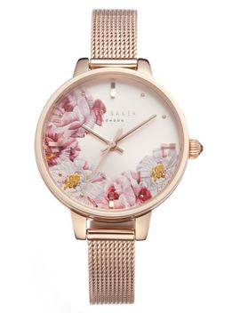 Kate Mesh Strap Watch, 36mm by Ted Baker London