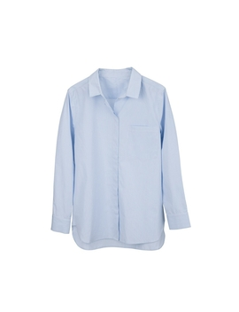 Poplin Boyfriend Shirt by Cuyana
