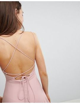 New Look Strappy Back Maxi Dress by New Look
