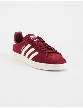 Adidas Campus Burgundy Shoes by Tilly's