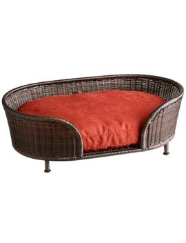 Small Mocha Dog Bed by Coco Cove Collection