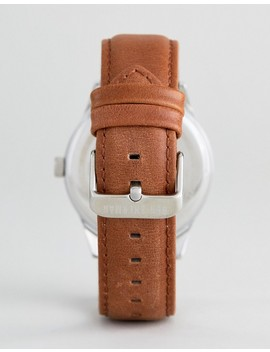 Ben Sherman Wb015 T Leather Watch In Tan by Ben Sherman