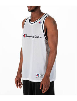 Men's Champion Graphic Mesh Jersey by Champion
