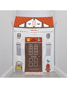 2 Sided Doorway Playhouse by Crate&Barrel