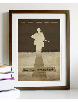 Saving Private Ryan Movie Poster by Etsy