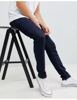 Next Skinny Jeans In Indigo Dark Wash by Next